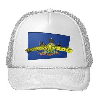 3D Pennsylvania State Flag Trucker Hat