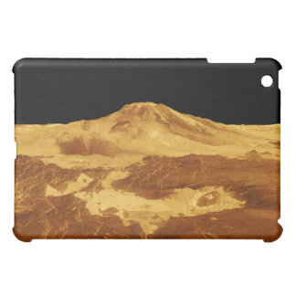 3D Perspective View of Maat Mons on Venus Cover For The iPad Mini