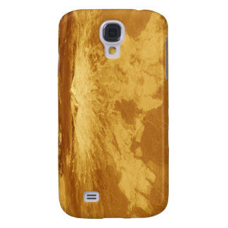 3D Perspective View of Sapas Mons on Venus Samsung Galaxy S4 Case