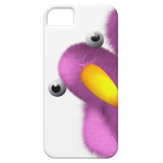 3d Pink Bird Peeping iPhone 5 Covers