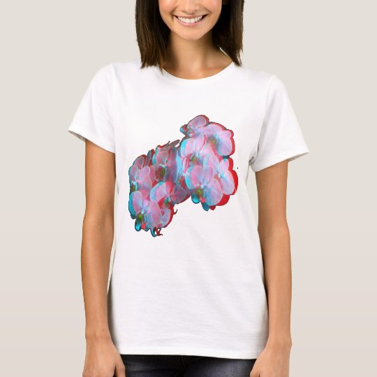 "3D ""PINK ORCHID"" T-Shirt"