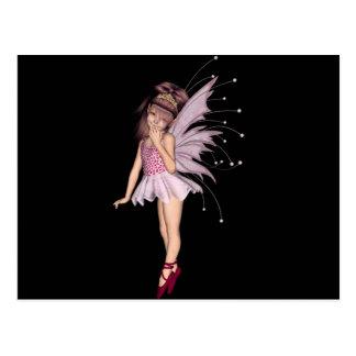 3D Pink Pixie 2 Postcard