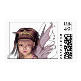 3D Pink Pixie 5 Stamp