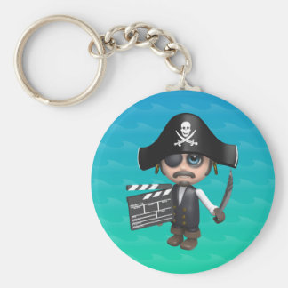 3d-Pirate-clapper Keychain
