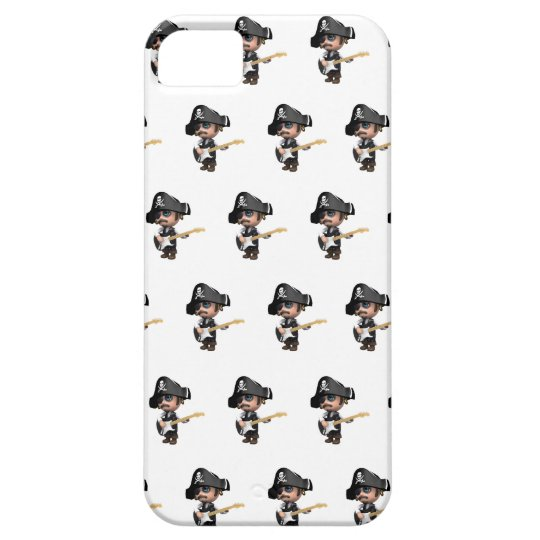 3d Pirate Guitarist iPhone SE/5/5s Case
