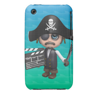 3d Pirate Movies! Case-Mate iPhone 3 Cases