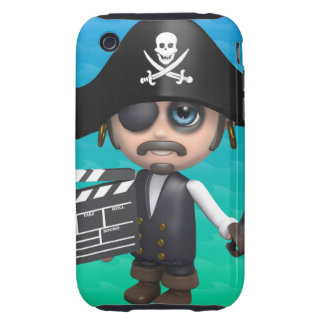 3d Pirate Movies! iPhone 3 Tough Cover