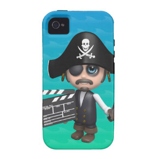 3d Pirate Movies! iPhone 4/4S Cases