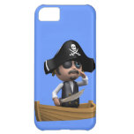 3d Pirate Ship Ahoy! (editable) iPhone 5C Case