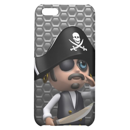 3d Pirate Ship iPhone 5C Covers