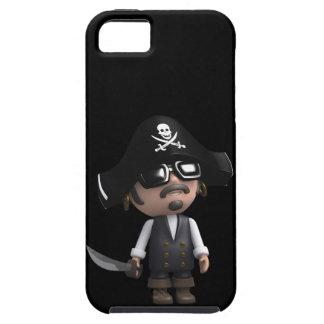 3d Pirate sunglasses iPhone 5 Case