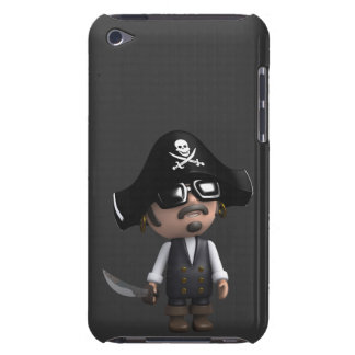 3d Pirate sunglasses iPod Touch Covers