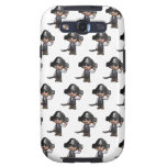 3d Pirate wave (Editable BG Color!) Galaxy S3 Cover