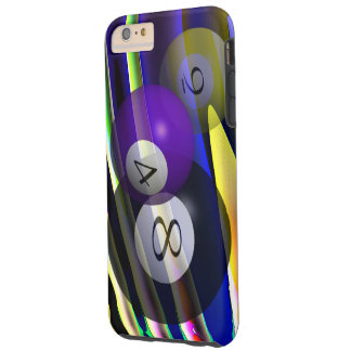 3D POOL BALLS of EUROPA Tough iPhone 6 Plus Case