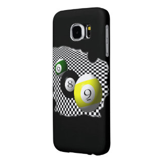 3D Pool Balls Psychobabble Splash Samsung Galaxy S6 Case