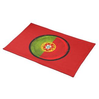 3D Portugal flag Cloth Place Mat