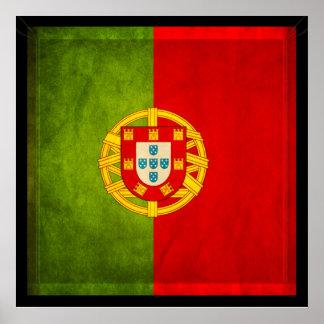 3D Portugal flag Poster