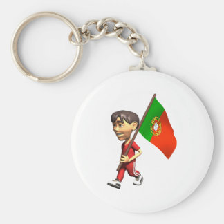 3D Portugal Keychain