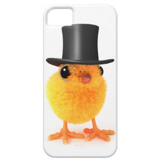 3d Posh Chick in Top Hat iPhone 5 Cases