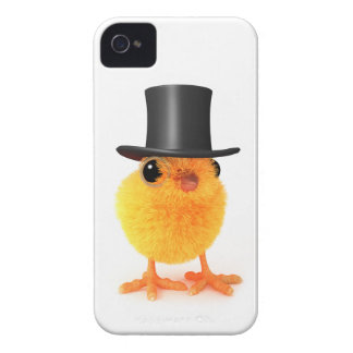 3d Posh Chick in Top Hat iPhone 4 Case