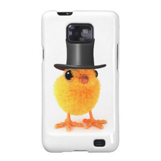 3d Posh Chick in Top Hat Galaxy SII Covers