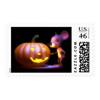 3d Pumpkin Mouse Stamps