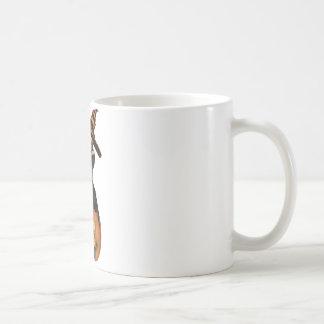 3D PUNK PUMPKIN GIRL - ORIGINAL COFFEE MUG