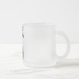 3D PUNK PUMPKIN GIRL - ORIGINAL 10 OZ FROSTED GLASS COFFEE MUG