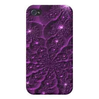 3D Purple Flower Petal Fractal IPhone 4/4S  Case
