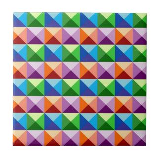 3D Pyramids Tile