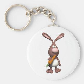 3D Rabbit Keychain