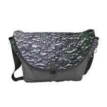 3D Rain Messenger Bag