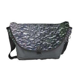 3D Rain Messenger Bag
