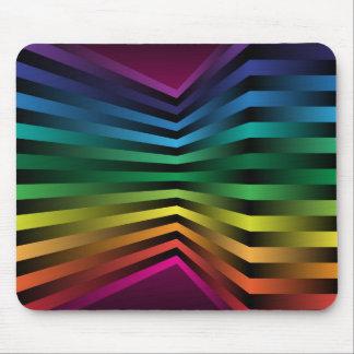 3D rainbow Mouse Pad