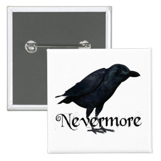 3D Raven nunca más Pin