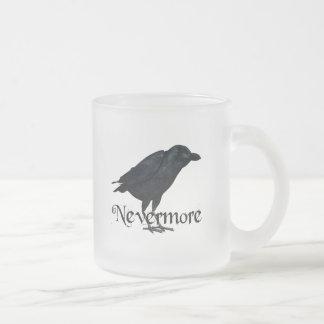 3D Raven nunca más Taza De Café