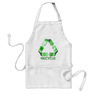 3d Recycle Graphic Adult Apron