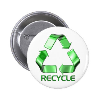 3d Recycle Graphic Buttons