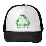 3d Recycle Graphic Mesh Hats