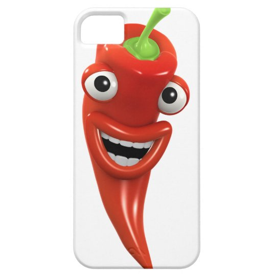 3d Red Chilli Pepper Laughs! (Any Color U Like!) iPhone SE/5/5s Case