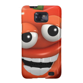 3d Red Pepper Laughs with joy Galaxy SII Cover