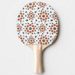 3D retro Starbursts Pala De Ping Pong