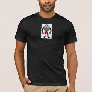 3D Robot - Small Print T-Shirt