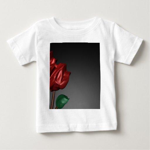 3D Roses Romantic Art Image Baby T-Shirt