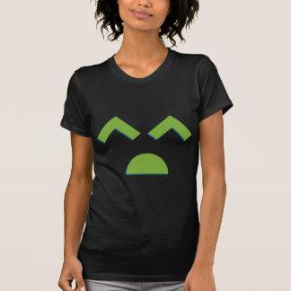 3d-Sad-Face-(Black) T-Shirt