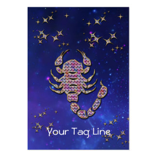 3D Scorpio - Zodiac Sign - Astrological Sign Business Card