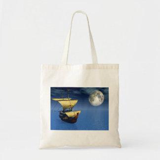 3d ship with moon bag