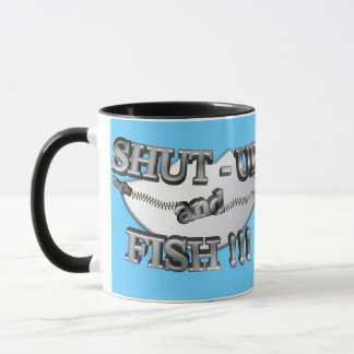 3D Shut-Up and Fish Mug