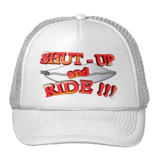 3D Shut - Up and Ride Hat