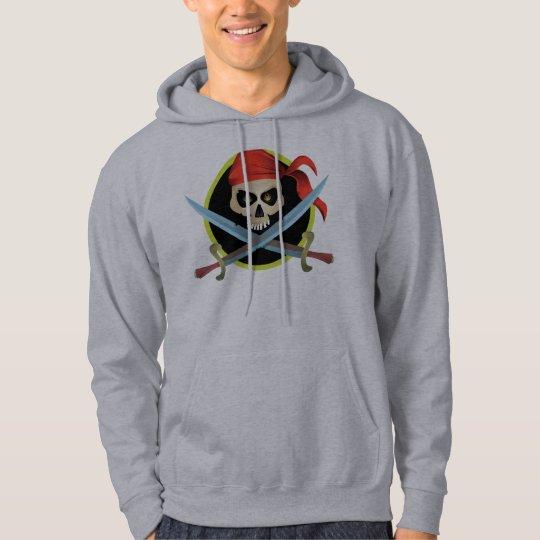 3D Skull and Crossbones Hoodie